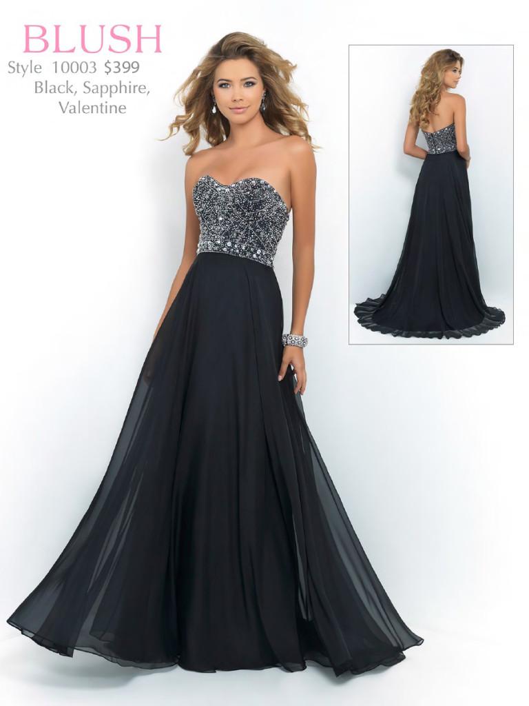 Blush prom dress style 9726
